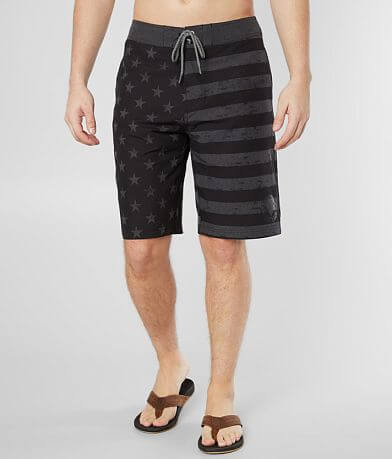Affliction American Freedom Stretch Boardshort