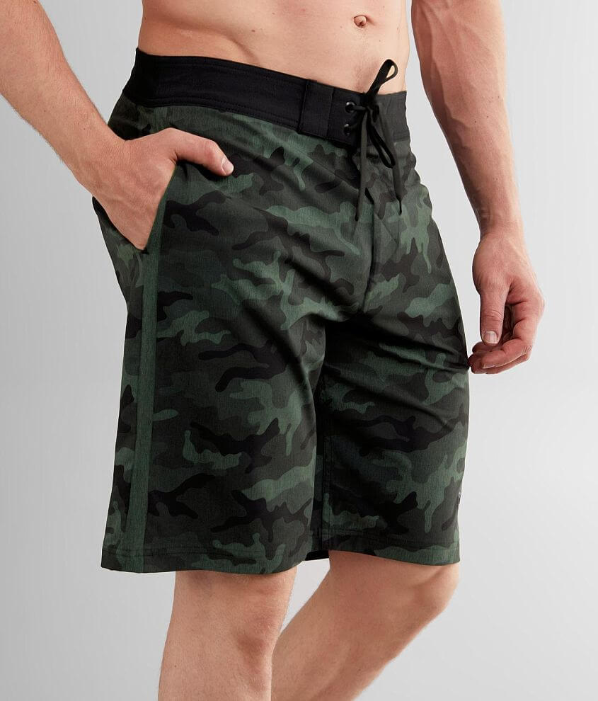 Affliction Crusade Stretch Boardshort front view