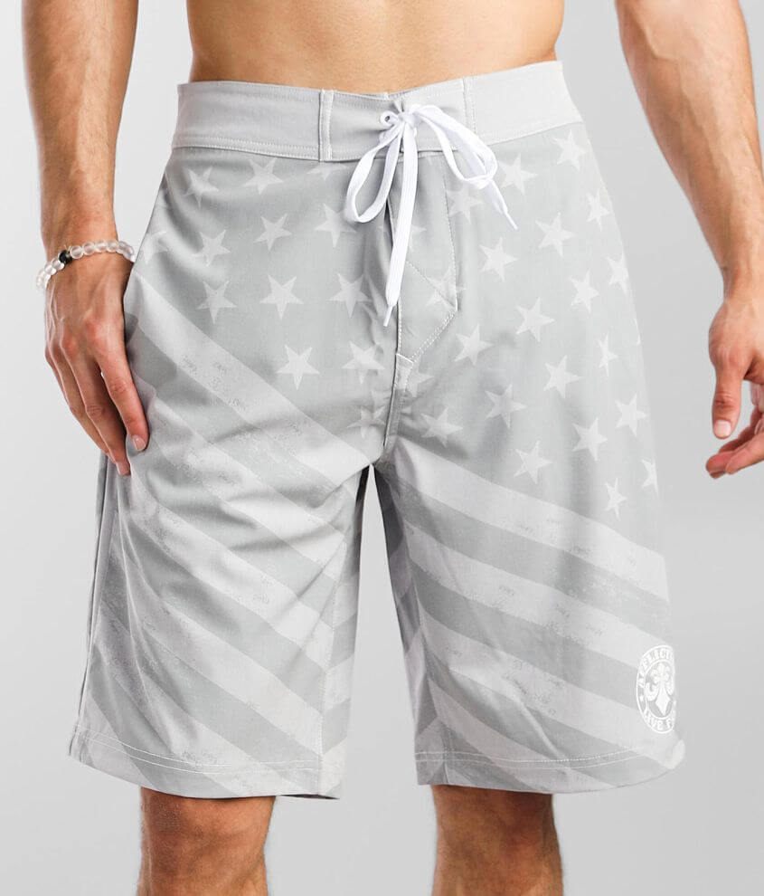 Affliction Justice Stretch Boardshort front view