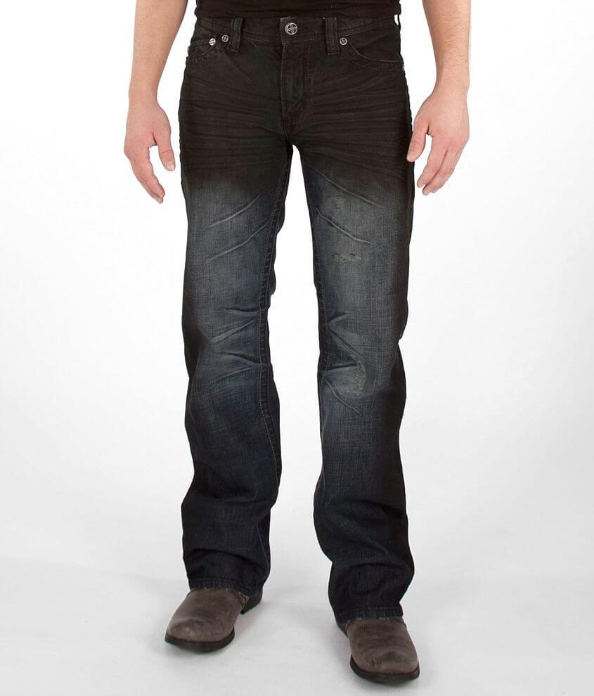 Affliction Black Premium Cooper 3D Jean front view