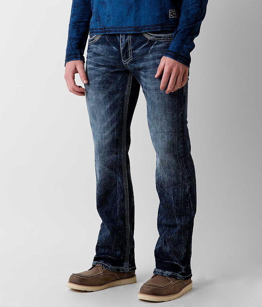 Affliction Black Premium Cooper Stretch Jean front view