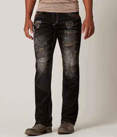 Affliction Black Premium Cooper Straight Jean