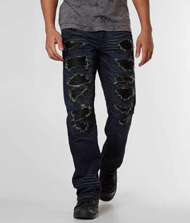 Affliction Black Premium Cooper Straight Jean