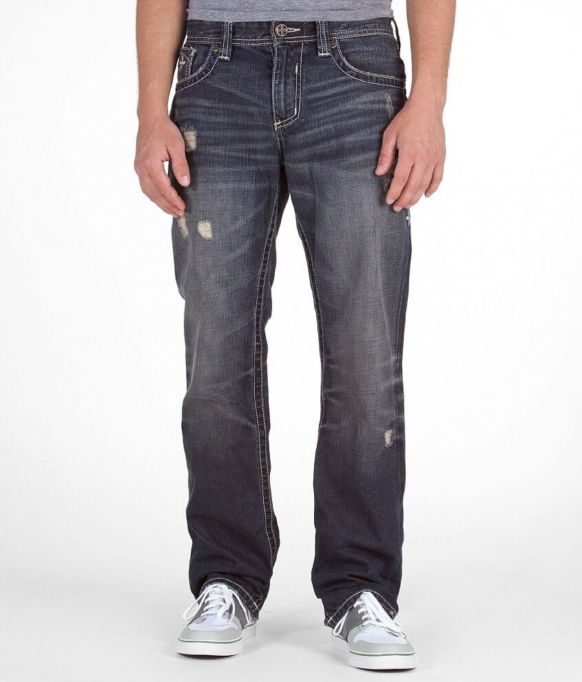 Affliction Grant Power Jean front view