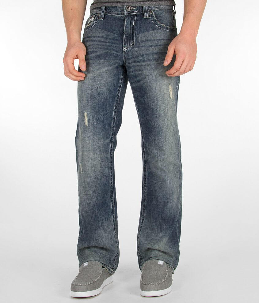 Affliction Black Premium Grant Jean front view