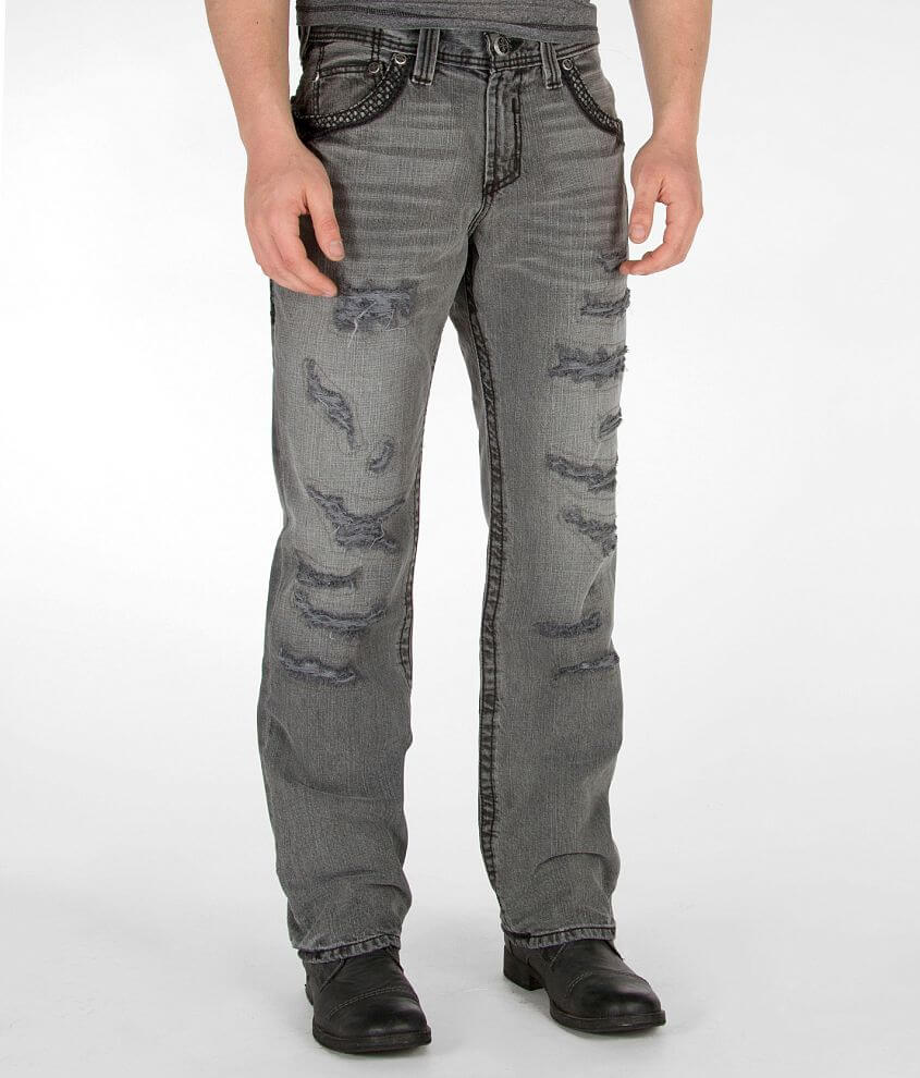 Affliction Grant Jean front view