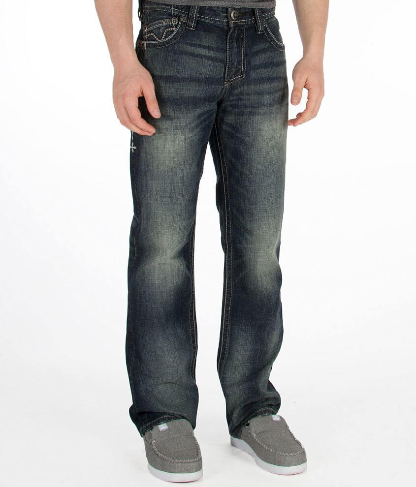 Affliction Grant Falcon Jean front view