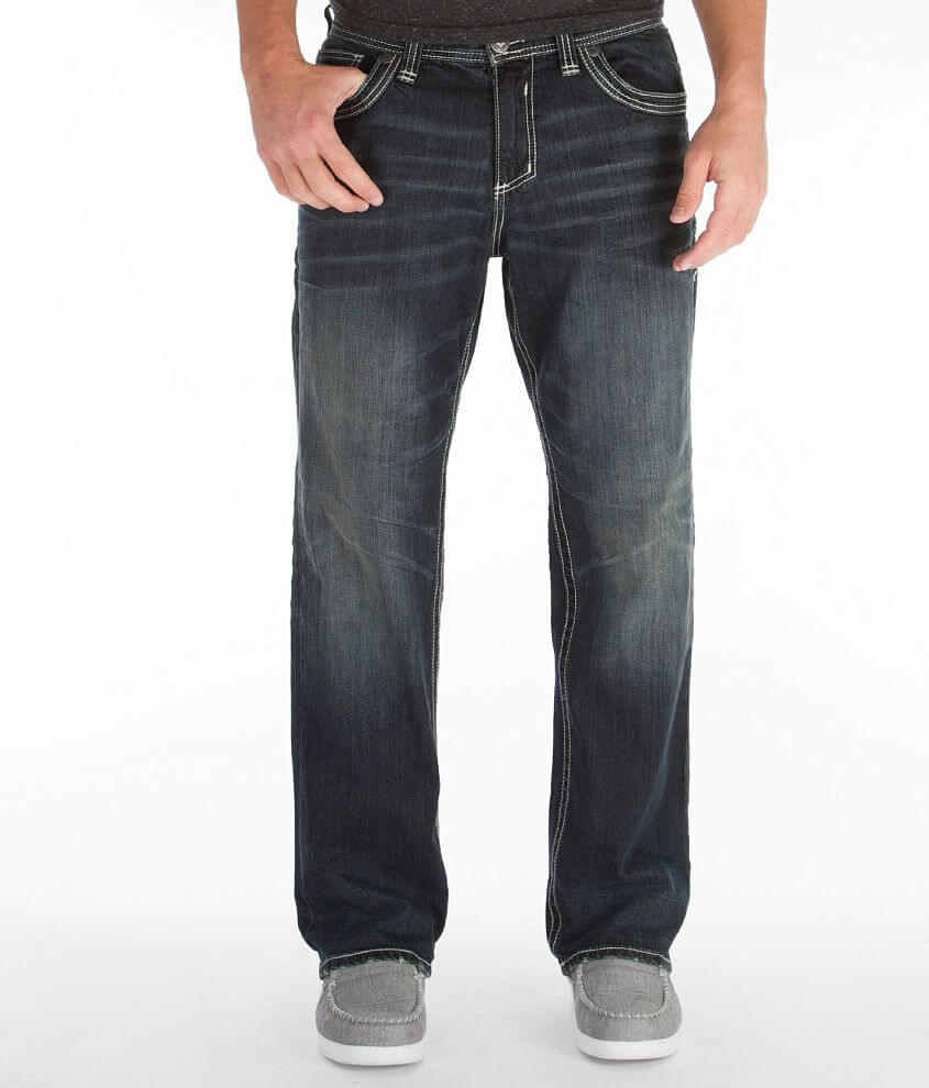 Affliction Grant Alpha Stretch Jean front view