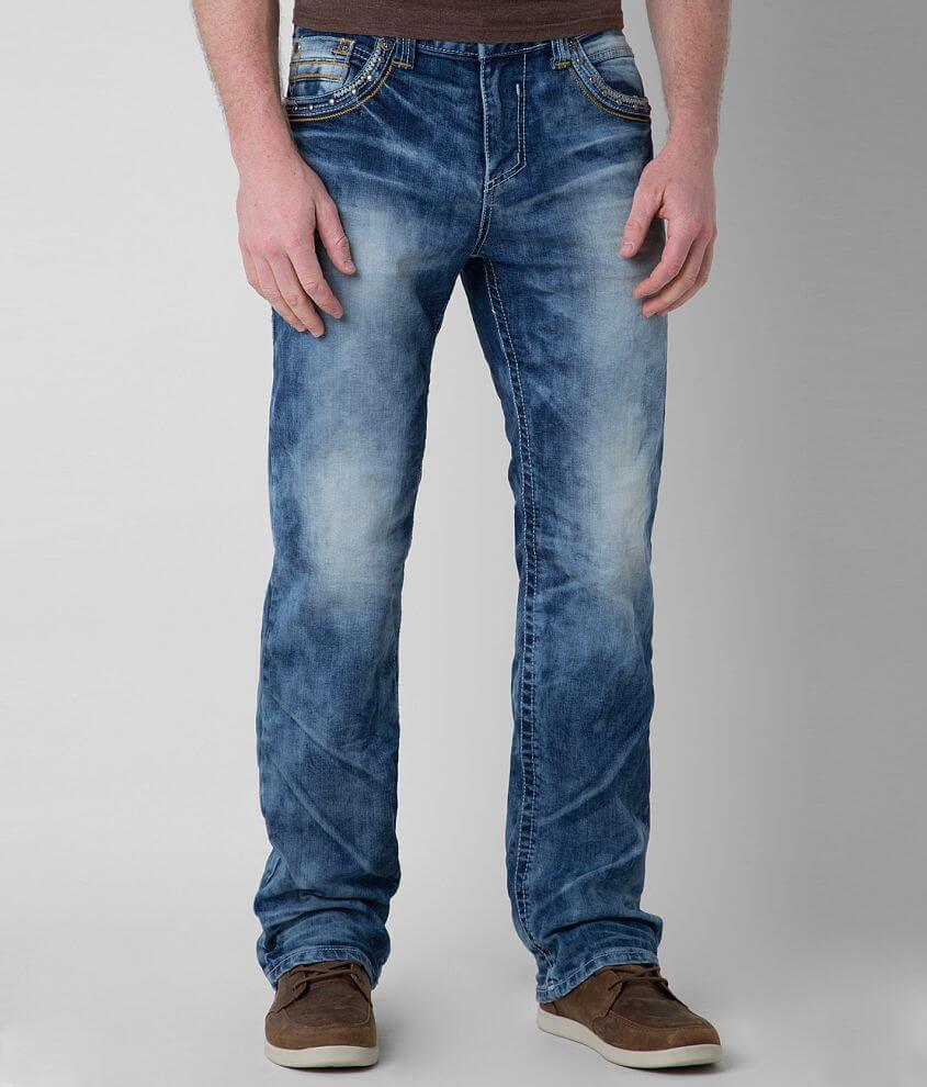 Affliction Black Premium Grant Empire Stretch Jean front view