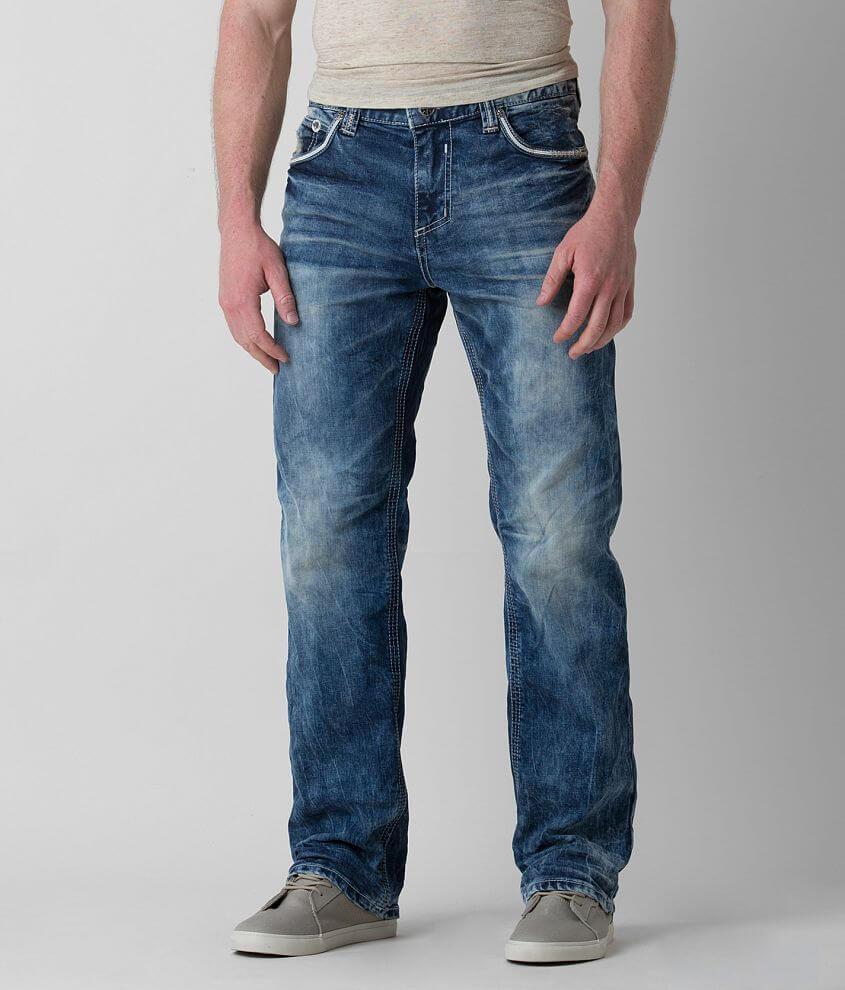 Affliction Black Premium Grant Stretch Jean front view