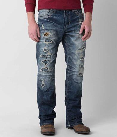Affliction Black Premium Grant Apex Stretch Jean