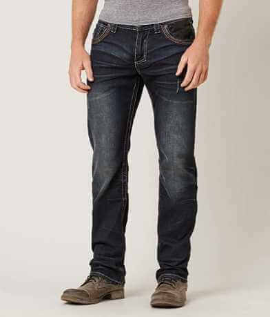 Affliction Black Premium Grant Stretch Jean