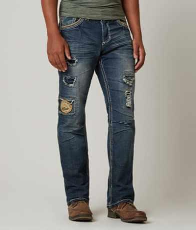 Affliction Black Premium Grant Stretch Jean