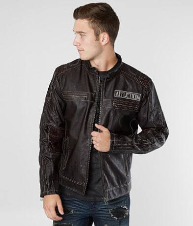 Affliction Black Premium Perennial Moto Jacket