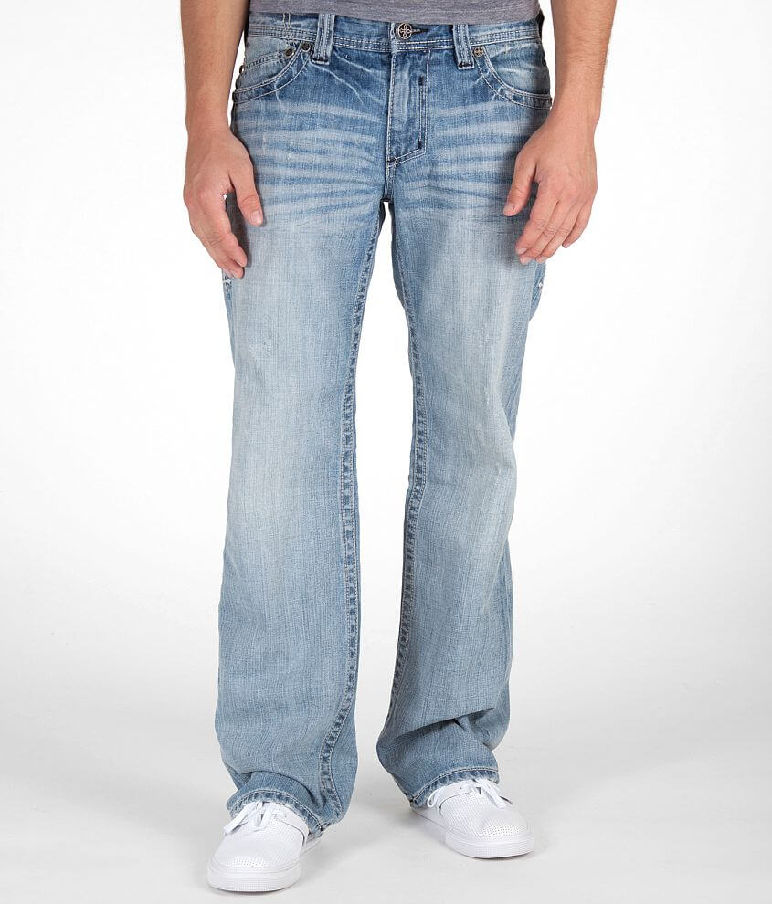 Affliction Blake Cut-Out Jean front view