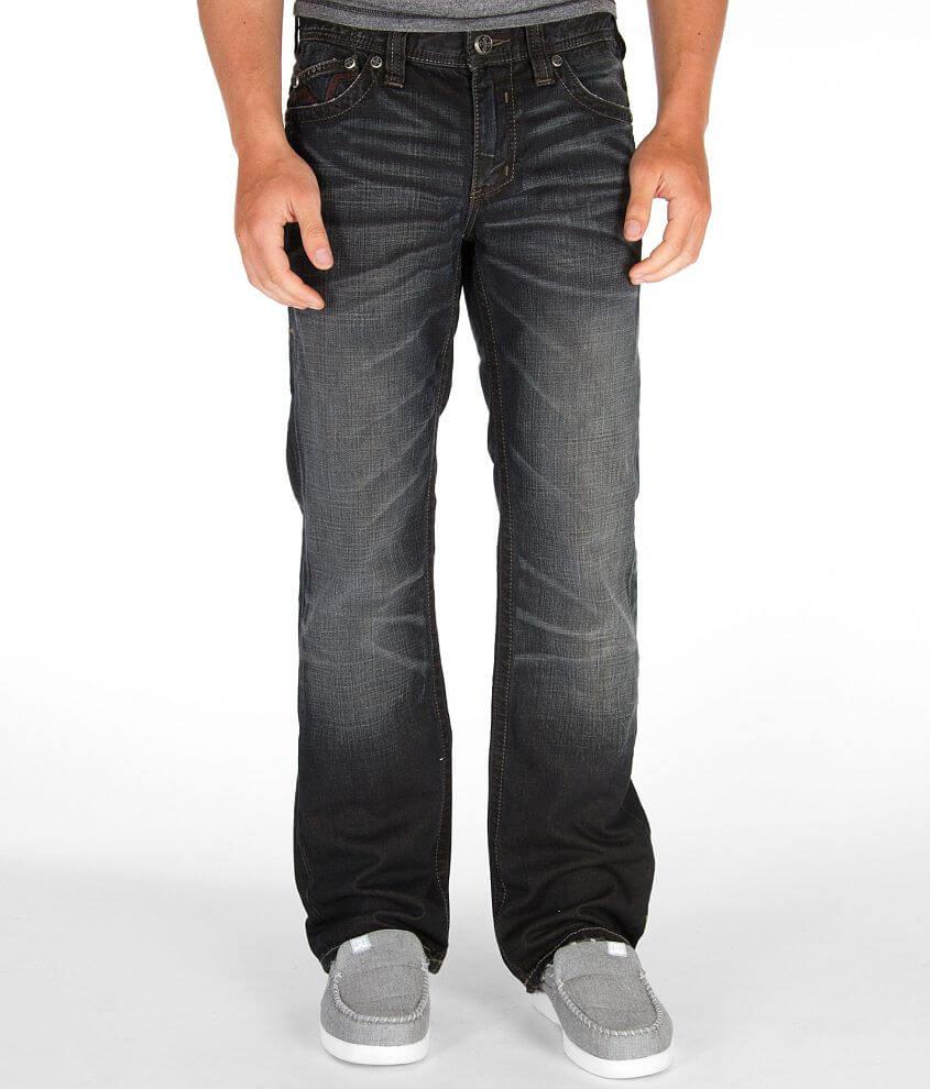 Affliction Black Premium Blake Jean front view