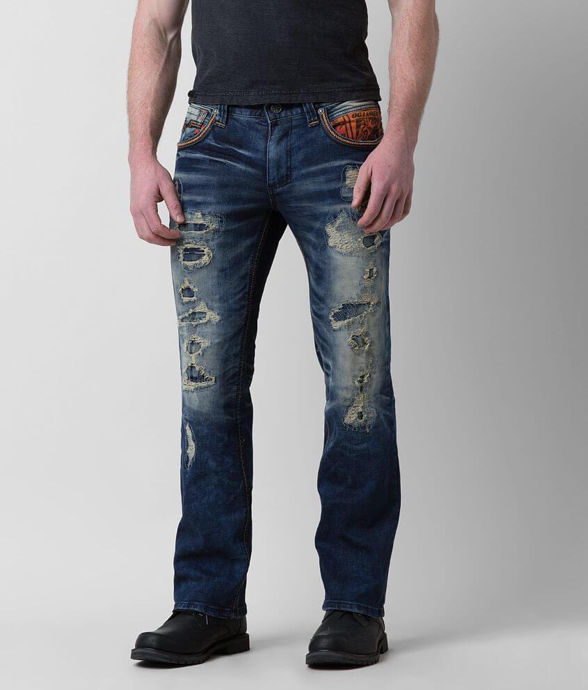 Affliction Black Premium Blake Stretch Jean front view