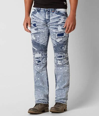 Affliction Fast & Furious Ace Moto Stretch Jean