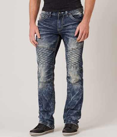 Affliction Black Premium Ace Rising Moto Jean