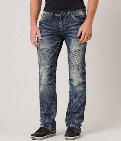 Affliction Black Premium Ace Rising Moto Jean