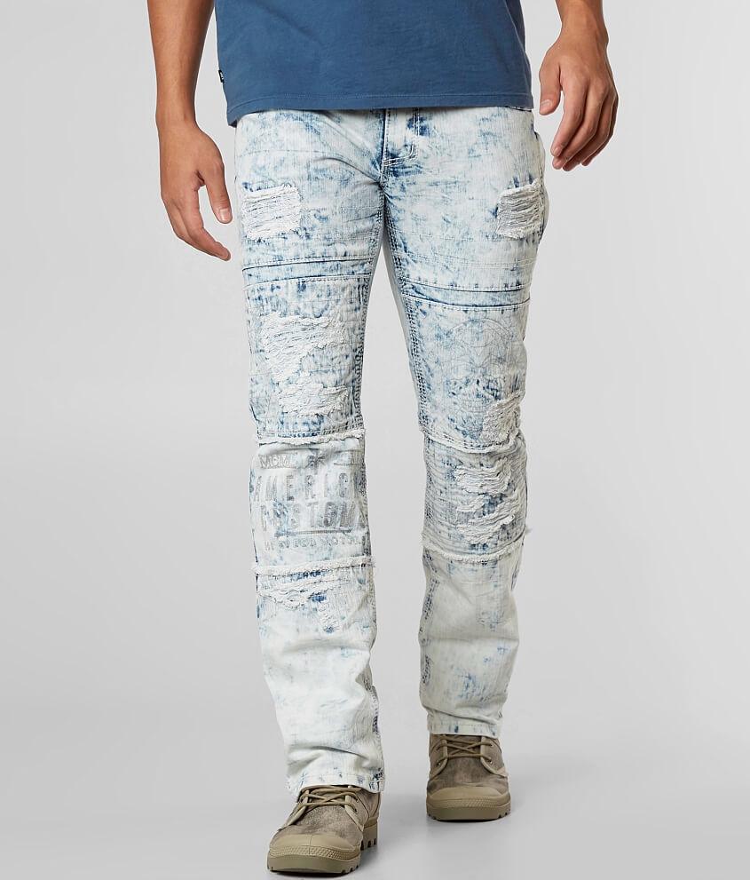 Affliction Black Premium Ace Stretch Jean front view