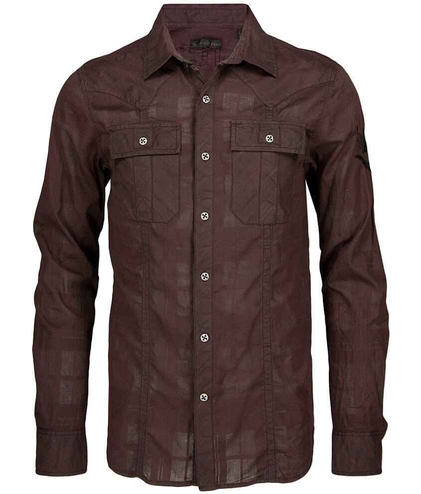 Affliction Black Premium Factor Shirt front view