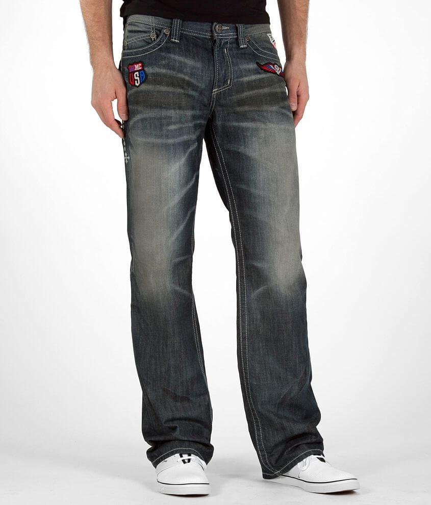 Affliction Black Premium Cooper Boot Jean front view