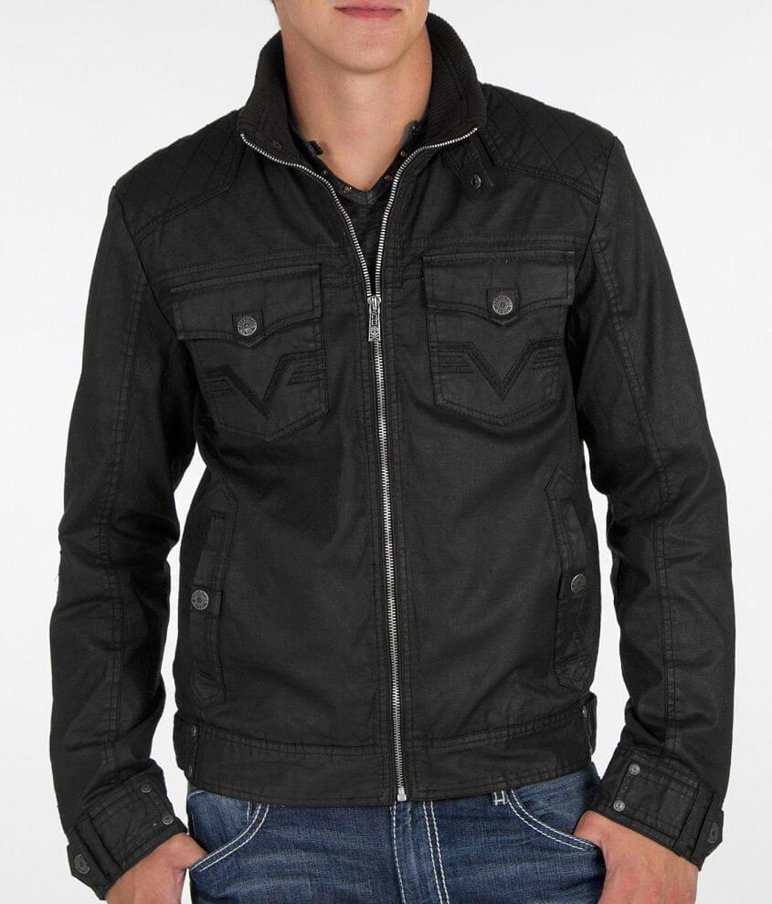 Affliction Black Premium Riverbend Jacket front view