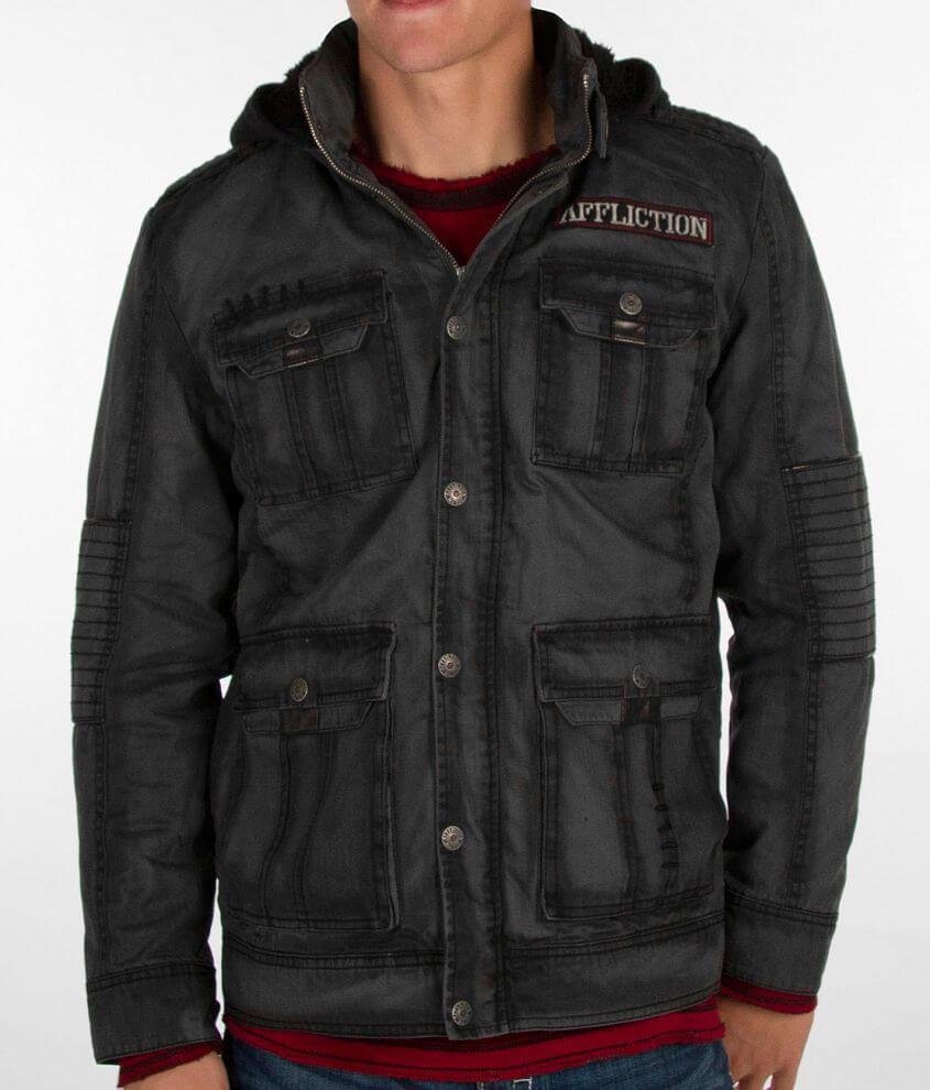 Affliction Black Premium Conquest Jacket front view