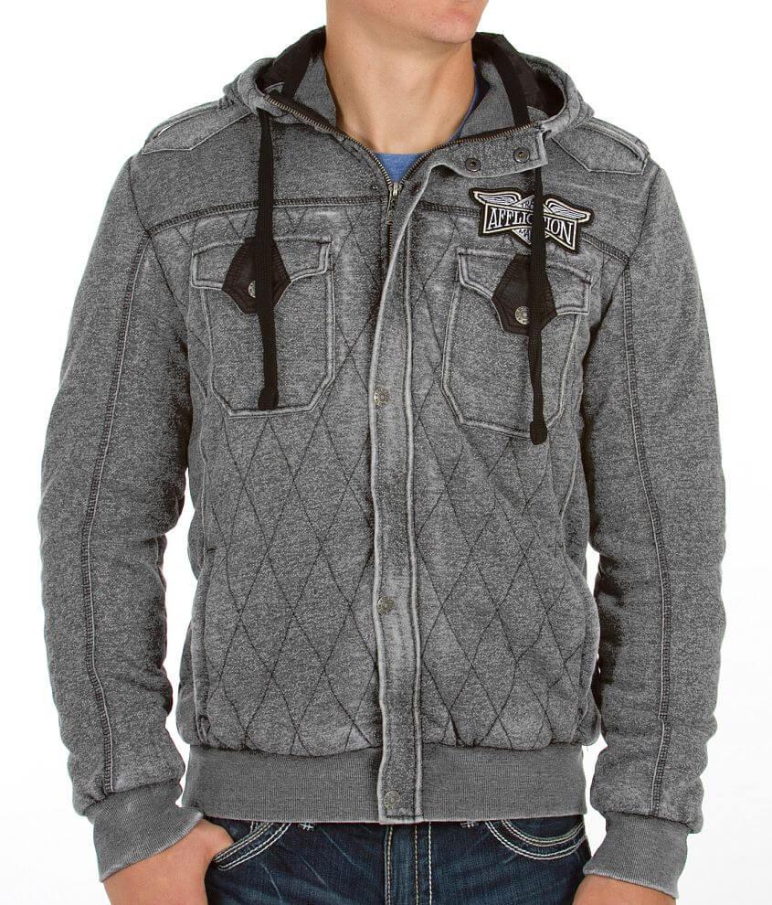 Affliction Black Premium Believes Sweatshirt front view