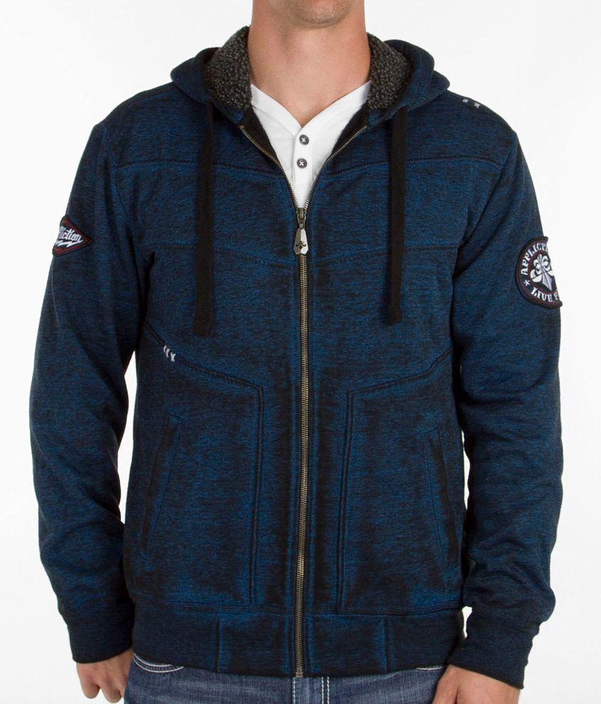Affliction Black Premium Breaking Away Sweatshirt front view