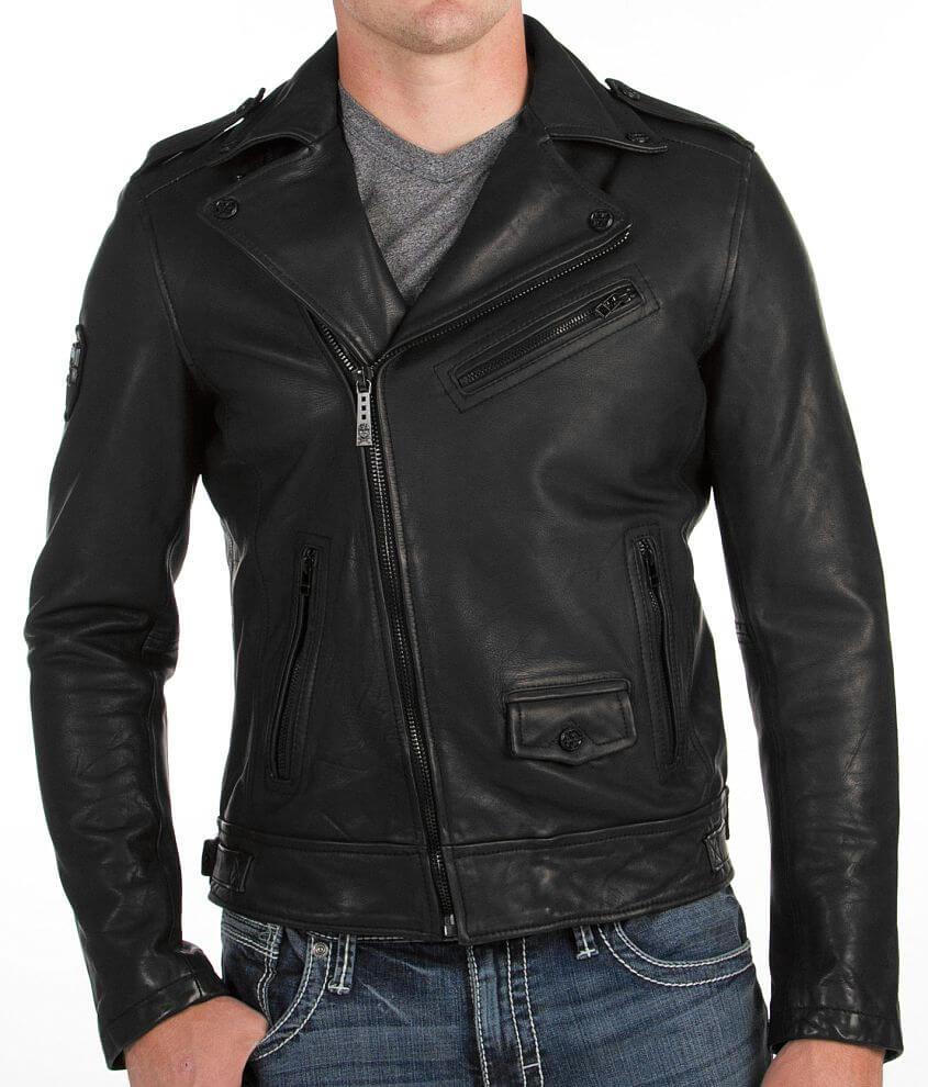 Affliction Black Premium Top Legend Jacket front view