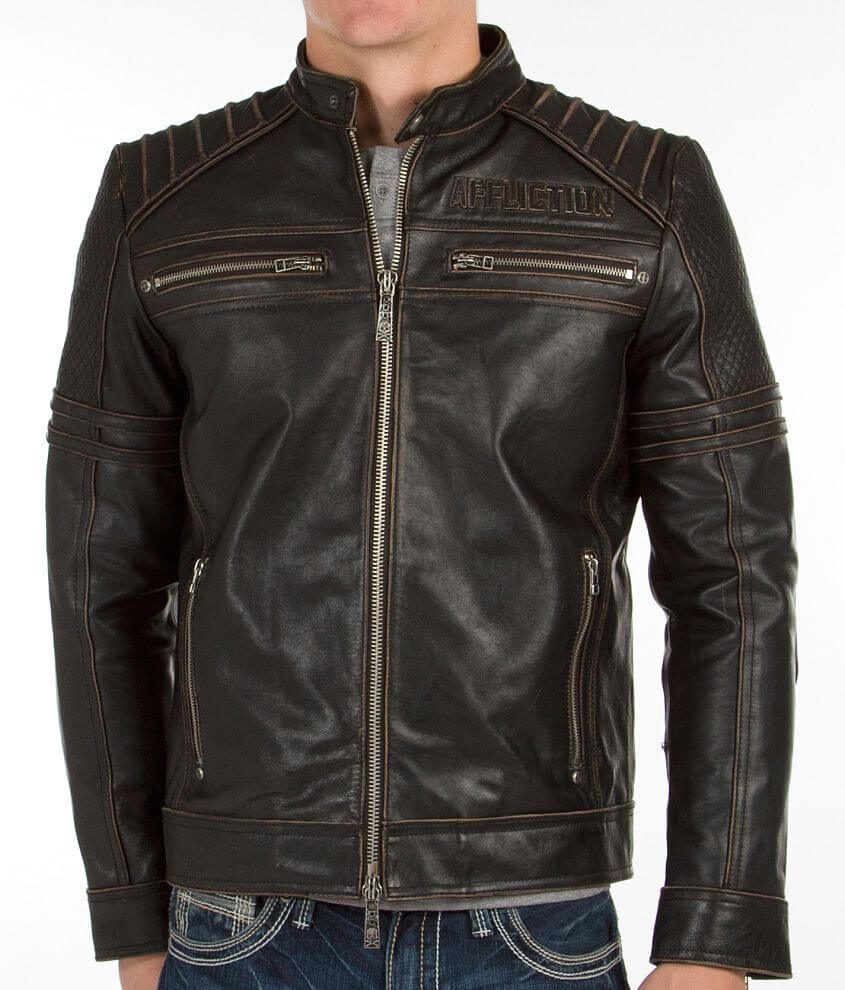 Affliction Day Watch Jacket front view