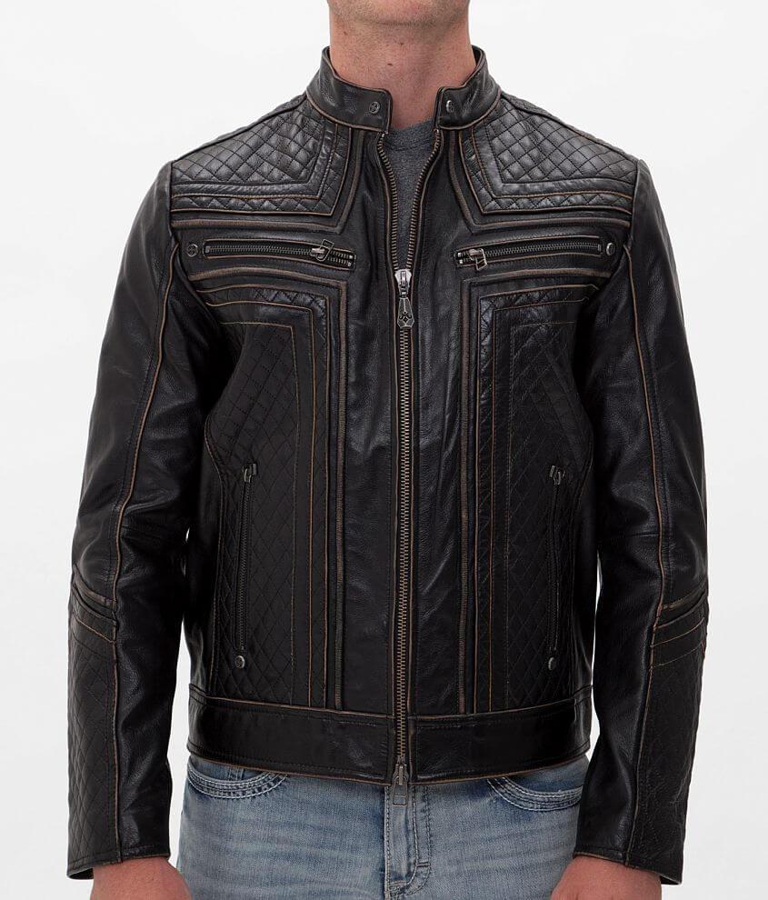 Affliction Black Premium Lemmy Jacket front view