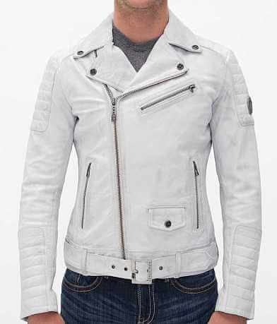 Affliction Black Premium White Jacket