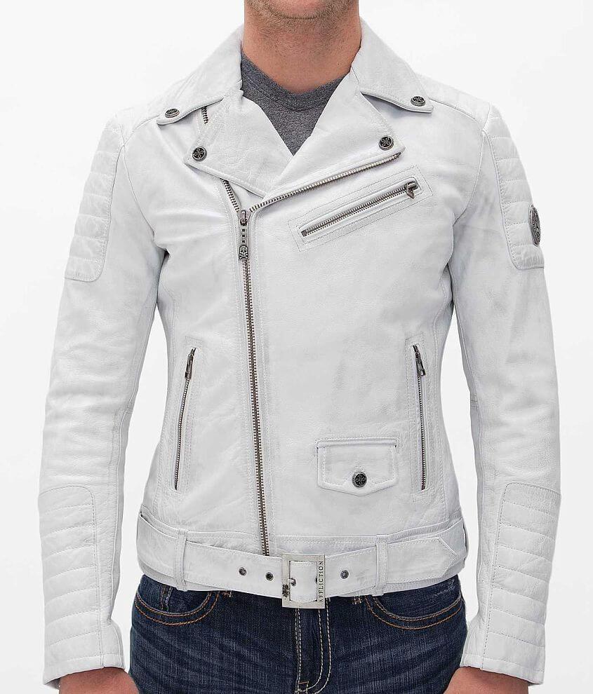 Affliction Black Premium White Jacket front view