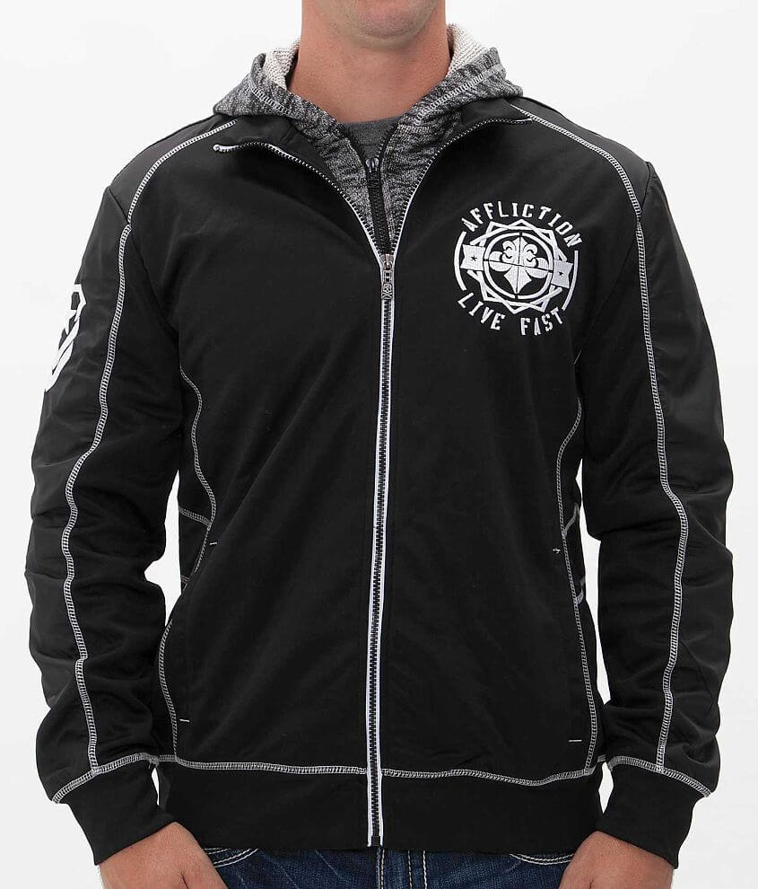 Affliction Massive Attack Jacket front view