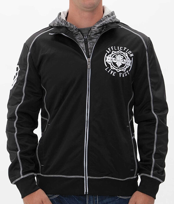 Attack Massive Affliction Jacket Attack Jacket Jacket Massive Massive Attack Affliction Affliction qBHUpH