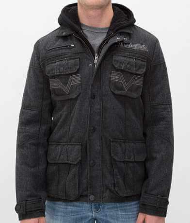Affliction Black Premium Revolt Coat