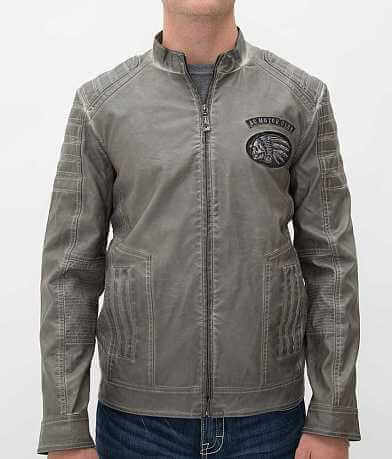 Affliction Black Premium Twisted Gears Jacket