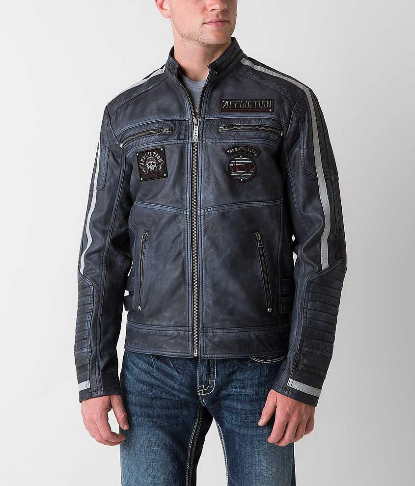 Affliction Black Premium American Rebel Jacket front view