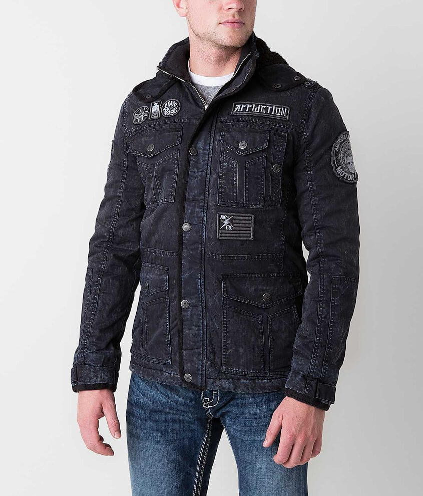 Affliction Black Premium Hysteria Jacket front view
