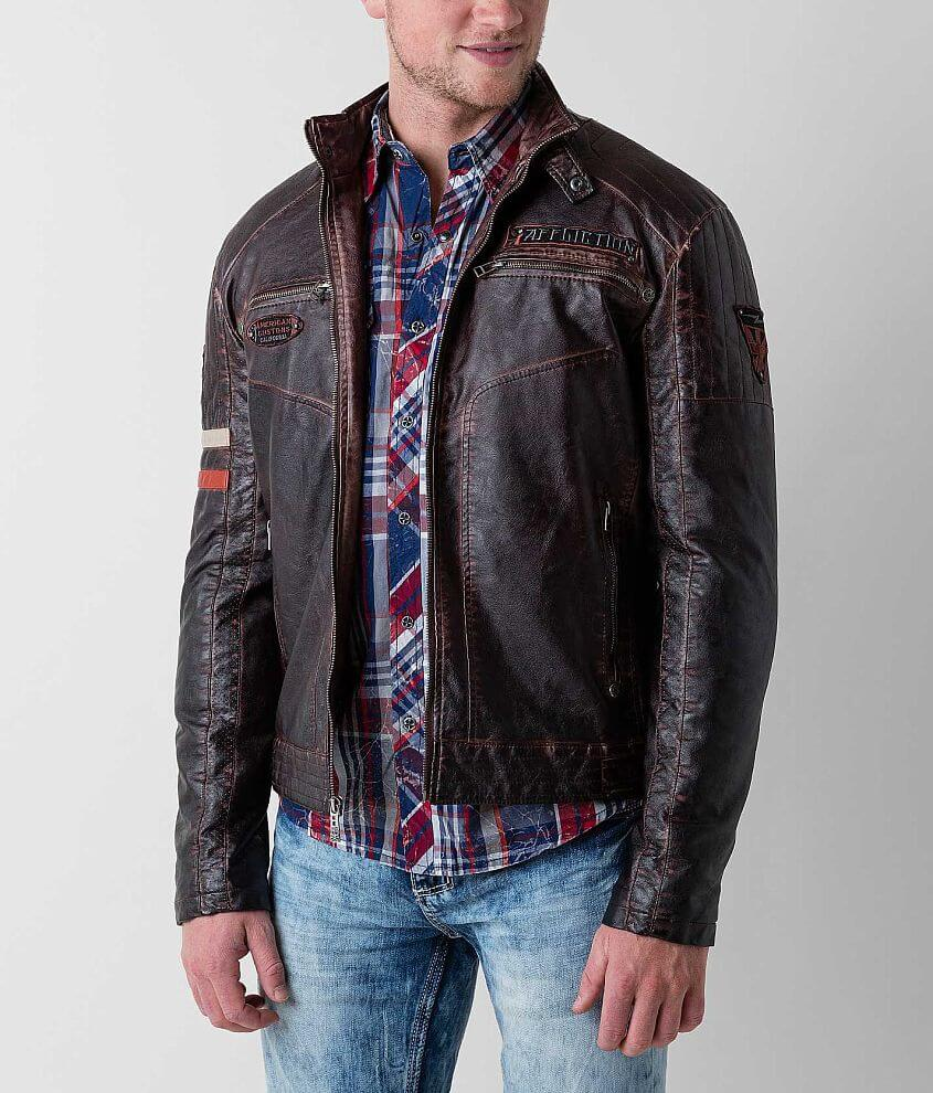 Affliction Black Premium Recklessness Jacket front view