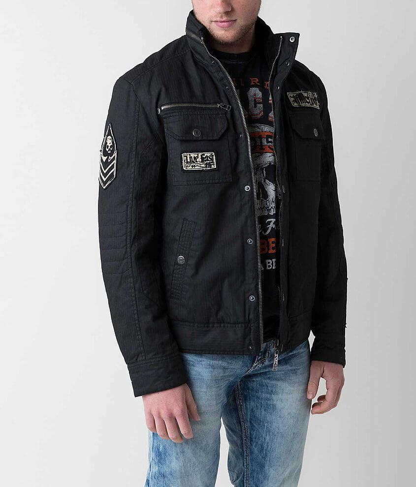 Affliction Black Premium Blaze Jacket front view