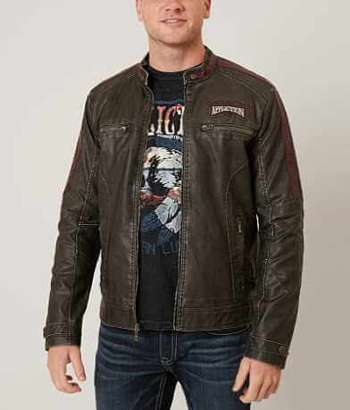 Affliction Black Premium Electric Spark Jacket