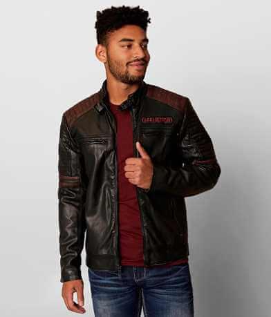 Affliction Black Premium Horsepower Jacket