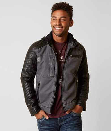Affliction Black Premium Speed Hunter Jacket