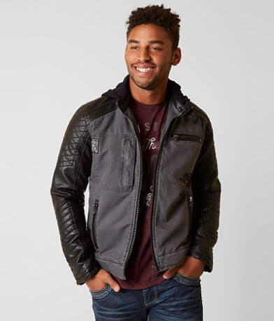 Affliction Black Premium Speed Hunter Jacket