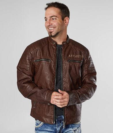 Affliction Rational Faux Leather Jacket