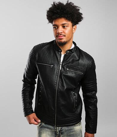 Affliction Fury Faux Leather Jacket